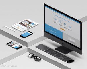 exemple de site créé avec Wix